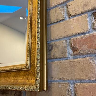 Large Beautiful Gold Mirror