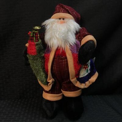 """13"""" Plush Santa Claus"""