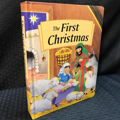 """""""The First Christmas"""" by Jane Swift & Marie Birkinshaw Illustrated Children's Book YD#012–1120-00014"""