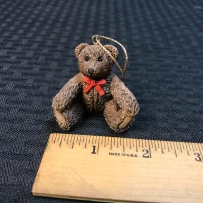 Fraser Treasures Miniature Teddy Bear Ornament