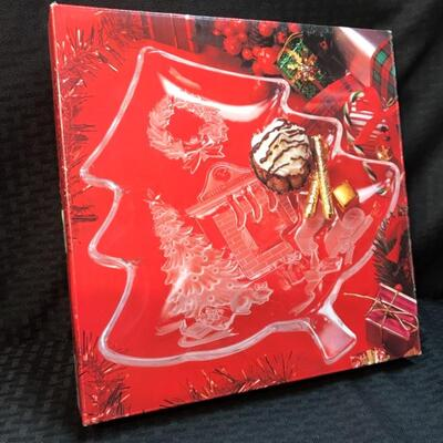 Studio Nova® Holiday Platter NIB