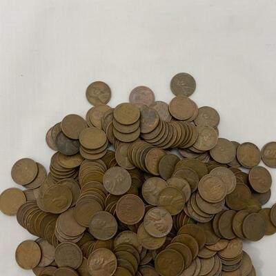 .7. Wheat Pennies 2.2 Pounds