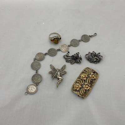 .9. Sterling Silver Mixed Lot