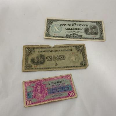 .10. Japanese Money   USA Military Payment Certificate