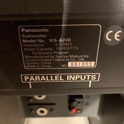 Ramsa Subwoofer Model WS-A240