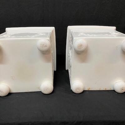 LOT#3: Vaisa of Spain Porcelain Planters