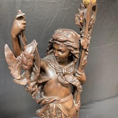 LOT#9: Neoclassical Bronze Statues