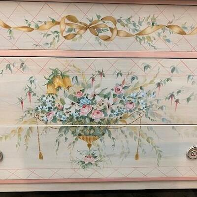 LOT#11: Painted Chest of Drawers
