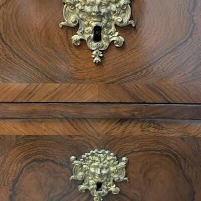 LOT#12: Believed to be Antique Italian Marble Top Commode