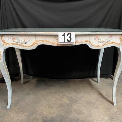 LOT#13: Painted Desk/Vanity