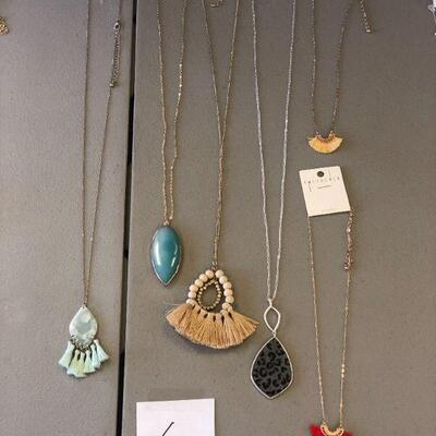 Lot 6 Six NWT Necklaces #1