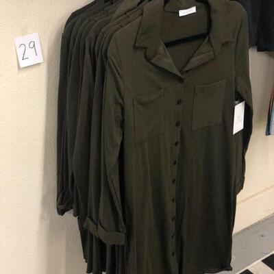 Lot 29 NWT Button Down Dress - 4 Medium, 7 Small