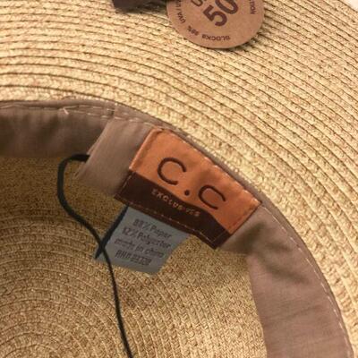 Lot 49 Four Fashion Hats #2 + CC Sun Hat