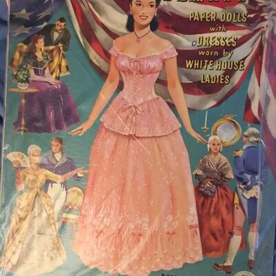 Collection of 11 Vintage Paper Doll Sets