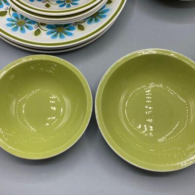 Vintage Mikasa Cera-Stone Dish Set