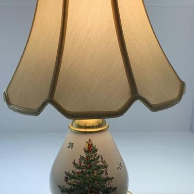SPODE Christmas 🎄 Lamp (nearly 2 feet tall @ 23 inches)