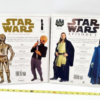 2 STAR WARS COLLECTOR BOOKS