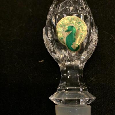 """WATERFORD, Crystal Wine Stopper """"NEW"""""""