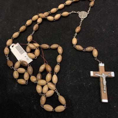 Vintage Wooden Prayer Beads