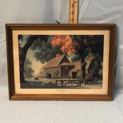 Framed Print Historic Homestead by Paul Detlefsen