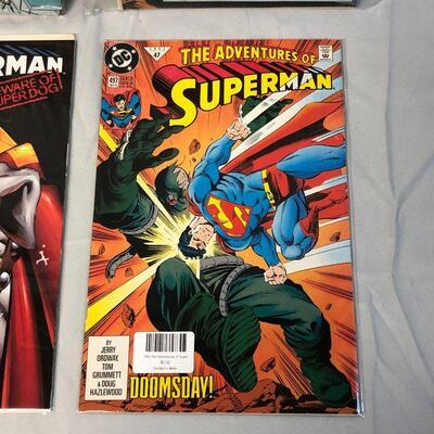 4 Superman Comics