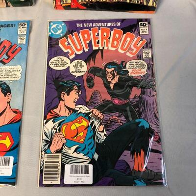 4 Superboy Comics