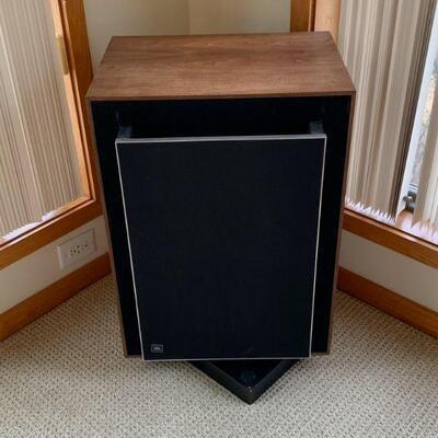 JBL C-45 floor speakers W/ original swivel stands / Like NEW