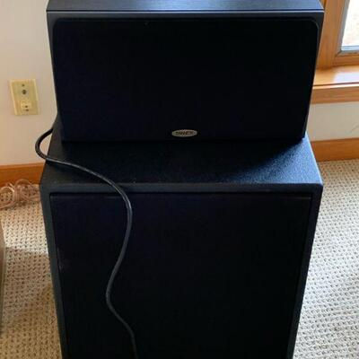 Tannoy S8C center speaker