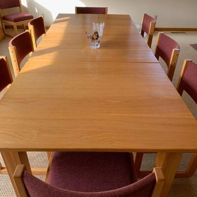 Hand crafted dinning room table 131