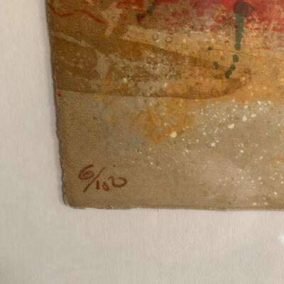 Sunol Alvar framed Lithograph 6/100
