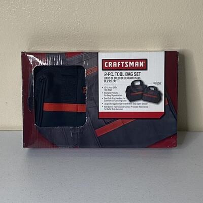 Craftsman 2Pc Tool Bag Set NIB