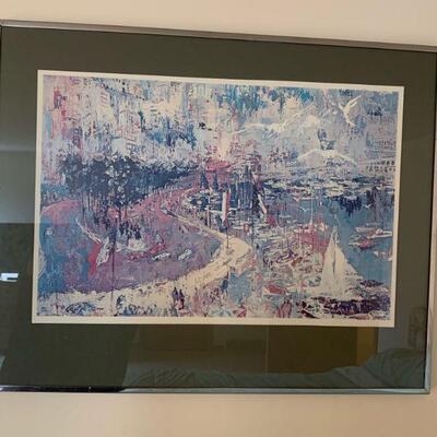 Leroy Neiman framed 24