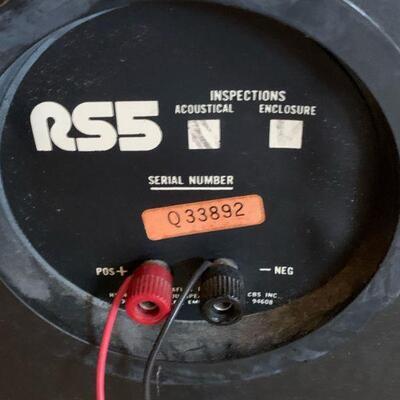 Quadraflex RS5 Speakers