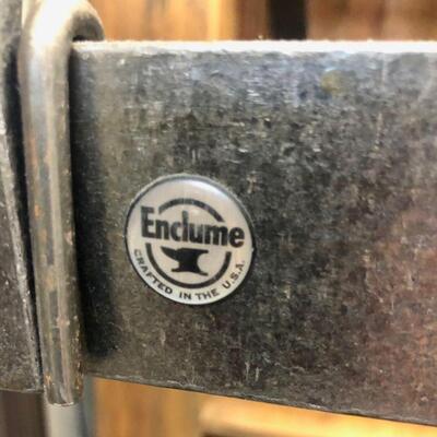 Heavy Duty Enclume Iron Pot & Pan Hanging Rack