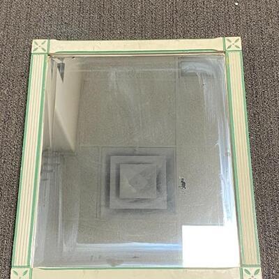 Vintage Rustic Framed Wall Mirror