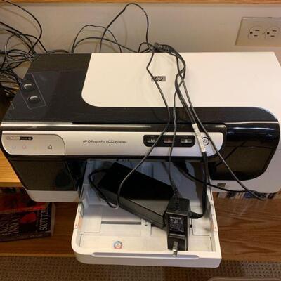 HP Office jet Pro 8000 wireless printer