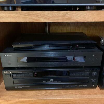 Sony Disk Player CDP-C225 Linear Converter 5 disk