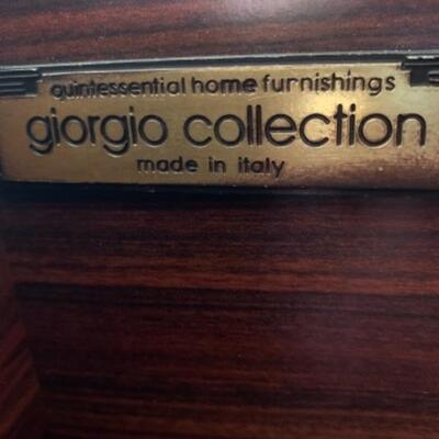 Amazing Giorgio Collection lighted breakfront,