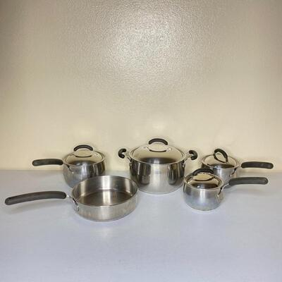 5 pc Bella Cookware - Stainless