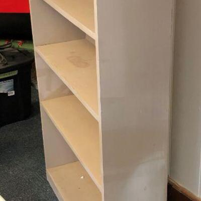 Lot 1 - Solid Wood Bookcase LOCAL PICK UP ONLY