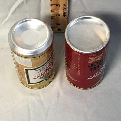 Lot 12 - Miller Beer Can Banks