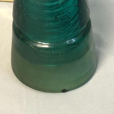 Lot 21 - Vintage Brookfield Glass Beehive Insulator