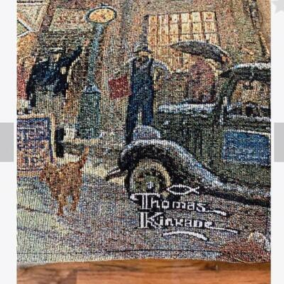 Large Tapestry Thomas Kincade
