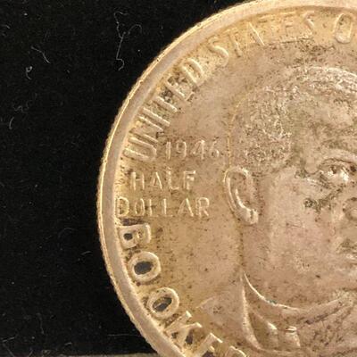 Lot 1 - 1946 Booker T. Washington Commemorative Coin
