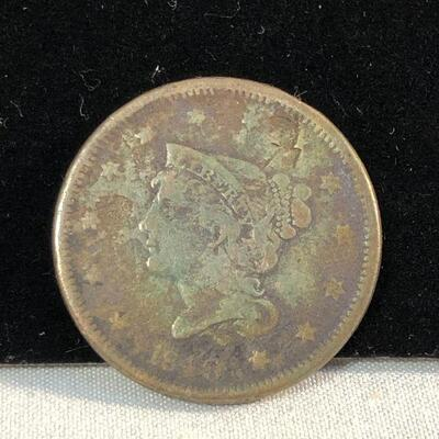 Lot 3 - 1840 Large Cent Penny