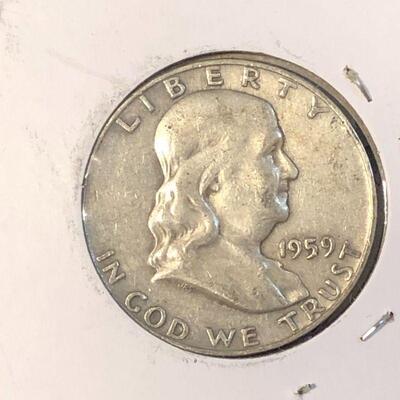 Lot 5 - 1959 Franklin Half Dollar