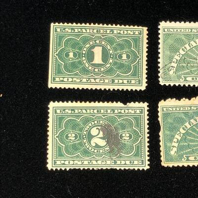 Lot 10 - US Postage Due and Special Handling Stamps