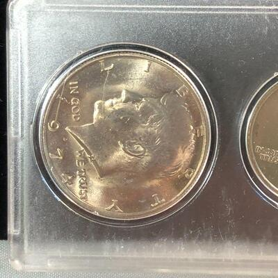 Lot 15 - Set of 1974 US Coins