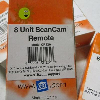 Lot 8 - 8 Unit ScanCam Remote CR12A
