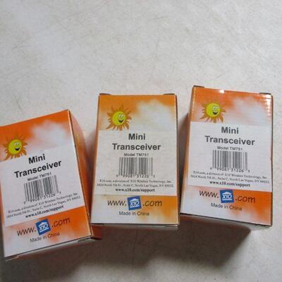 Lot 10 - X10 Mini Transceivers Model TM751